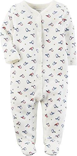 (Carter's Baby Girls' One Piece Bird Print Sleep & Play 9 Months)
