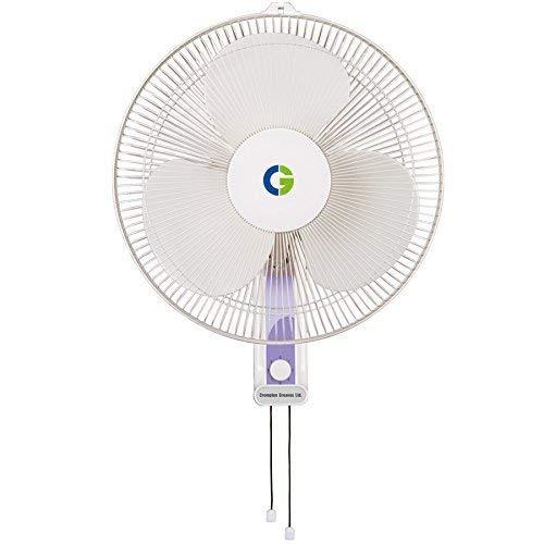 (Renewed) Crompton High Flo Wave Wall Mounted Fan – 400MM (Opal White)