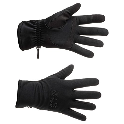 Jack Wolfskin Dynamic Touch Gloves, X-Small, Black