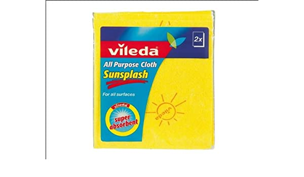 Bayeta Multiusos 12 Packs de 2 Unidades Vileda Sun Splash