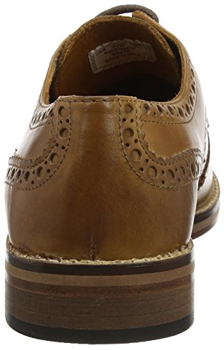 Red Tape Herren Meath Brogues, Hautfarben Braun (Tan)