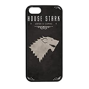 SUUER Rubber Silicone Custom Game of Thrones Design Skin Personalized Custom Rubber Tpu CASE for iPhone 5 5s Durable Case Cover