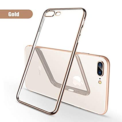 Amazon.com: Clear Case for iPhone 7 8 Plus Silicone Luxury ...