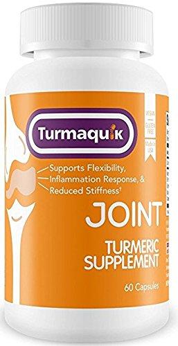 550mg Meriva Curcumin Turmeric Supplement (60 Capsules) + 5 Boosters: BioPerine black pepper, Boswellia, Ginger, Chamomile & Calcium
