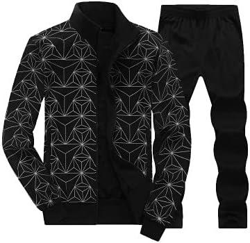 Men Tracksuit Sports Suit Casual Men Jacket+Pant Sportswear Two Piece Sets Clothing
