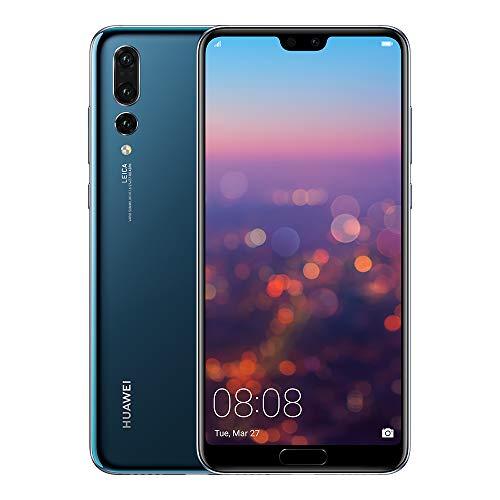 Huawei P20 Pro – Smartphone de 6,1″ (Kirin 970 AI, 6G de RAM, 128 GB de memoria, Triple Cámara Leica) Android, 8.1, Single Sim, Color Azul [Versión ES/PT]