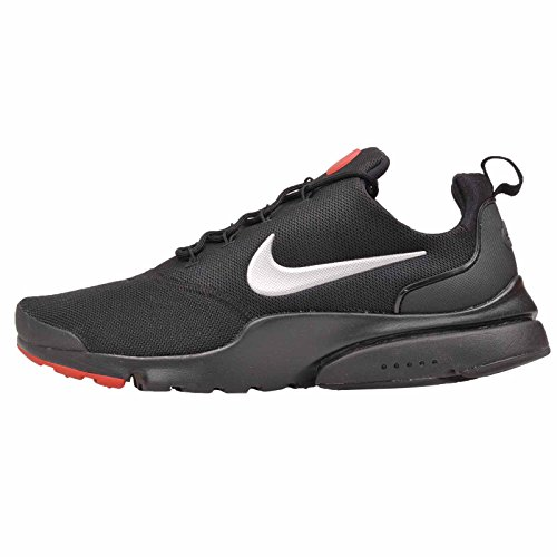 NIKE Men's Presto Fly Running Shoe Black/Metallic Silver recommend online buy cheap purchase Togr7V2