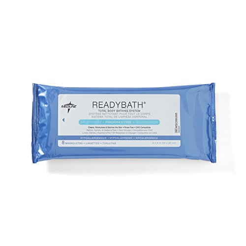 Medline ReadyBath Unscented Cleansing Standard
