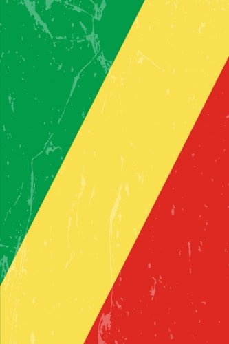 Congo Flag Journal: The Democratic Republic of the Congo Travel Diary, lined Journal to write in (Congo Diary)