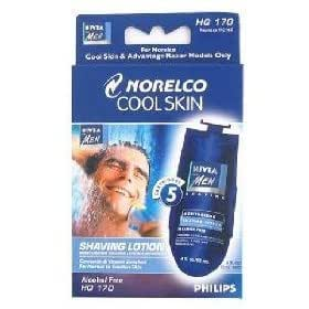 Philips/Norelco HQ170 HQ-170 Cool Skin 5-Pack Nivea Shaver Lotion Cartridges