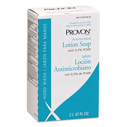 PROVON NXT Antimicrobial Lotion Soap with 0.3% PCMX, 2000 mL Lotion Soap Refill for PROVON NXT Push-Style Dispenser (Case of 4) - 2218-04