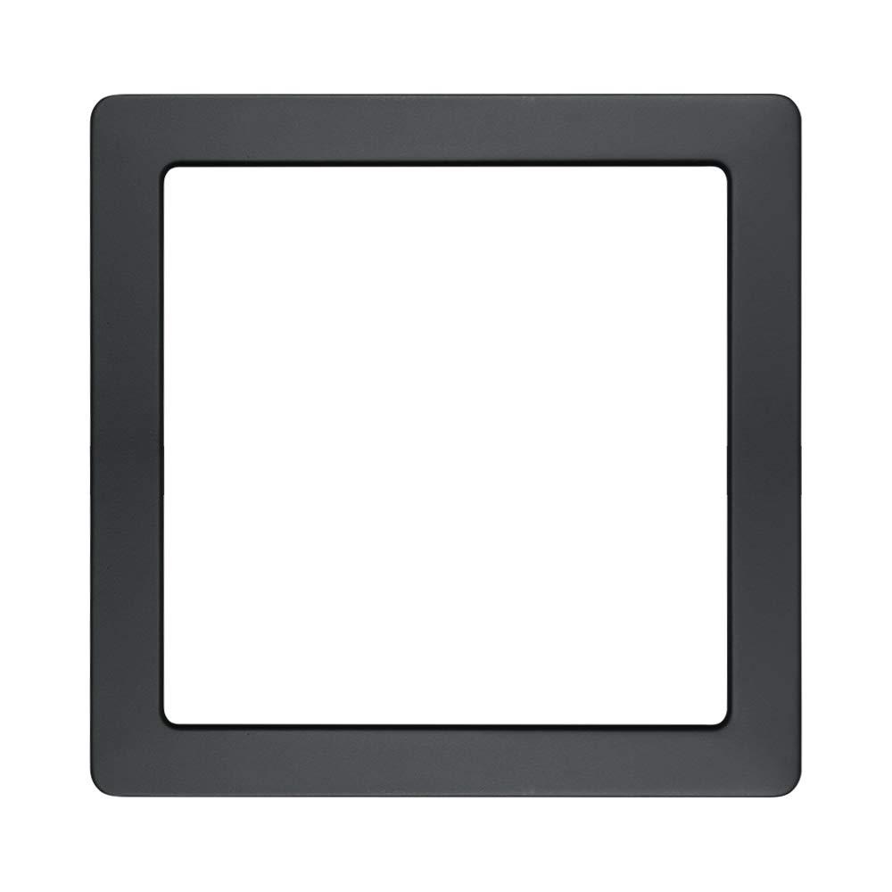 1 Pack Matt Black Trim (Lamp Body Not Included), for AVANLO 9 Inch Square LED Flush Mount Ceiling Light Fixture Disk Light