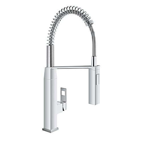 Eurocube Single-Handle Pull-Down Semi-Pro Kitchen Faucet