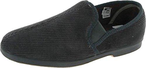 New para hombre Twin traje de neopreno Exeter con refuerzo de ante para patucos de tela Classic antideslizante-on zapatos de al aire libre gris - gris
