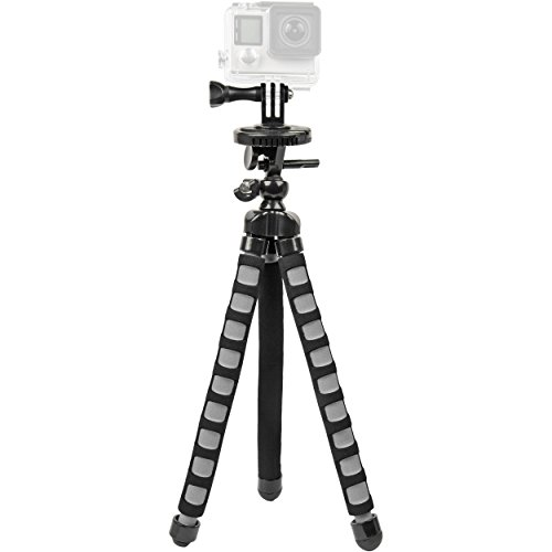 Bower - Flex Tripod For Gopro Black/gray