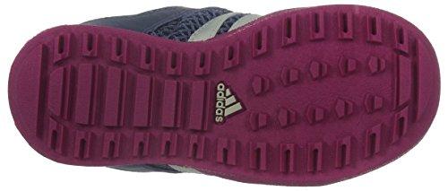 adidas Unisex Baby Daroga Plus AC I Lauflernschuhe Violett / Weiß / Rosa (Morsup / Blatiz / Eqtros)