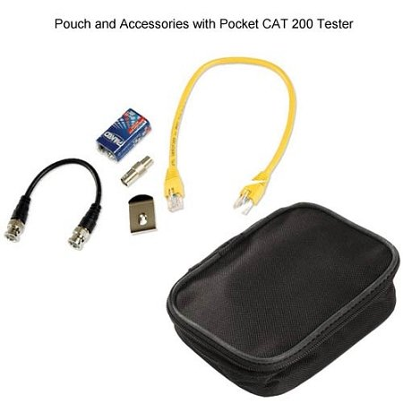 Triplett / Byte Brothers CTX200 Pocket CAT LAN Tester for RJ45 CAT5 CAT6 and Coax Cables by Triplett (Image #3)