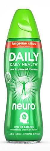 Neuro DAILY Tangerine Citrus, 14.5 oz Bottles (Pack of - Daily Drink