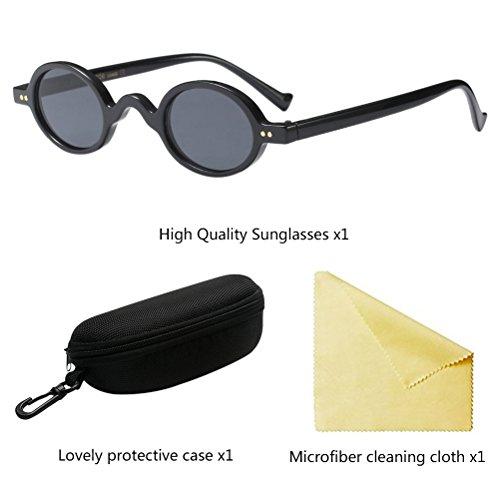 Femmes Eyeglasses Eyewear Zhuhaitf Mini Hommes Personnalité Style Black Léger Soleil de HD Loisirs Lunettes qP1fEw