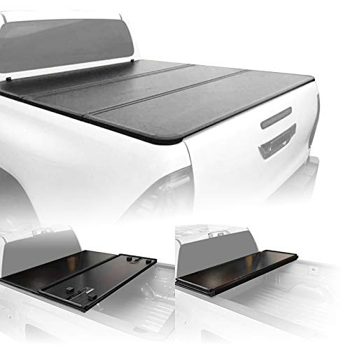 Fenza Hard Tri-Fold Tonneau Cover for 2012-2019 Isuzu D-Max Double Cab (5 ft. Bed)