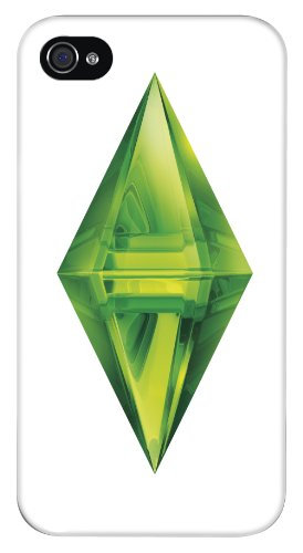 Bigben Interactive Custodia per iPhone 4/4S, Motivo The Sims, Bianco