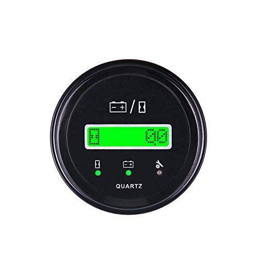 Runleader RL-BI011B LCD de la batería Indicador del cronómetro para ATV UTV Tractor Carros de golf Buggies Utilitarios de...