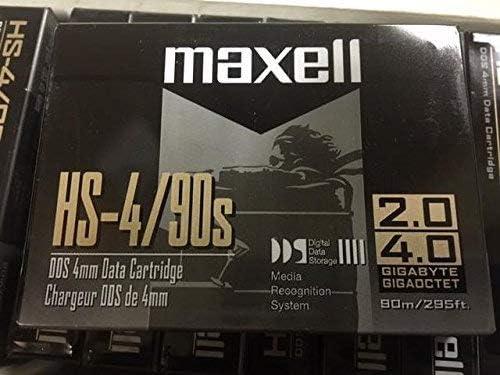 3PCS MAXELL DDS 4MM Data Cartridge HS-4//90S