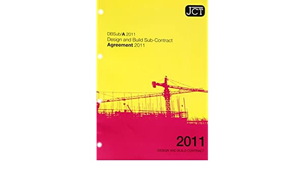 Jct Design And Build Contract 2011 Pdf