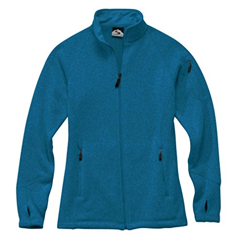 Storm Creek Women's Celine Sweater Fleece Jacket, Ocean, - Sweater Anthony