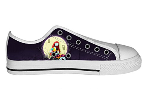 Womens Canvas Low Top Shoes The Nightmare Before Christmas Design Dayofdead Shoes17 rejlNvQ