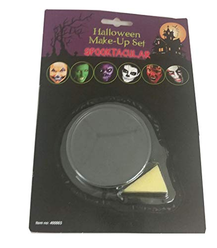 FNA FASHIONS Black Face Makeup Base Spectacular Scary Make Over Halloween Horror Gents Ladies