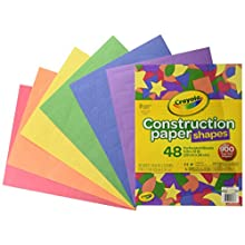 Crayola Construction Paper Shapes 48ct Construction Paper Shapes