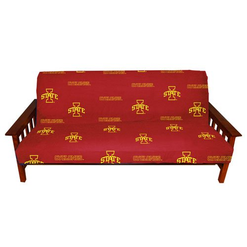College Covers Iowa State Cyclones Futon Cover - Full size fits 6 and 8 inch mats