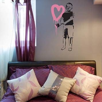 Amazoncom Mildred Rob Big Con Corazones Nio Banksy