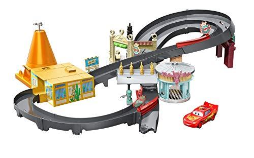 Disney Pixar Cars Race Around Radiator Springs Playset (Mattel Radiator Springs)