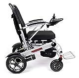Porto Mobility Ranger X6 Portable Premium Power Wheelchair, Aerospace Aluminum Crafted Design Foldable