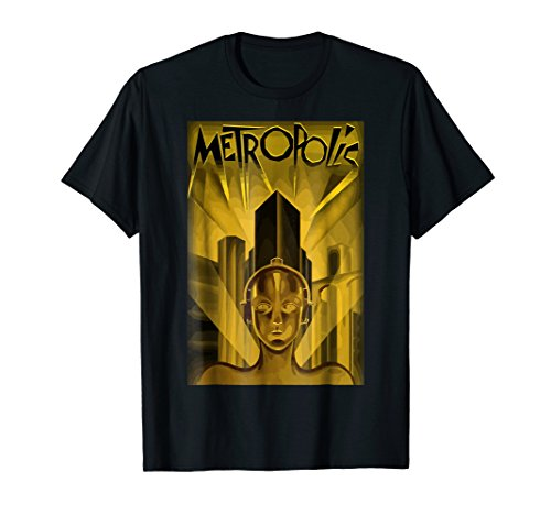 Metropolis, 1927 Poster T Shirt, Original Design (Seating Metropolis)