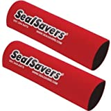 "Seal Savers SEALSAVERS 1-1/2"" SHORT RED Fork Seals- SS112R"