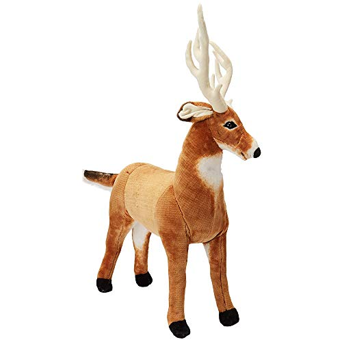 Melissa & Doug Giant Deer - Lifelike Stuffed Animal (over 3 feet long)