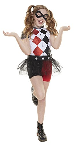 [DC Super Hero Girls Harley Quinn Everyday Dress-Up Outfit] (Harley Quinn Girls Costumes)