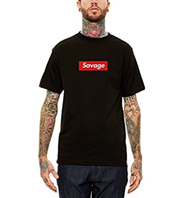21 Savage Box Logo Black Tour Pop Up Shop T Shirt Tee