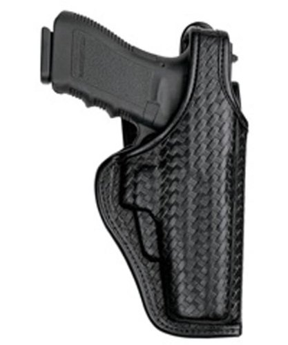 - Bianchi AccuMold Elite 7920 Defender II Duty Holster -Size13A Sigarms (Basketweave Black, Right Hand)