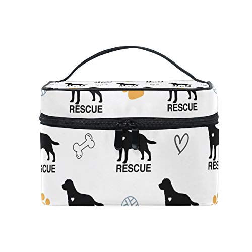 Used, Portable Travel Makeup Bag Labrador Retriever Rescue for sale  Delivered anywhere in USA