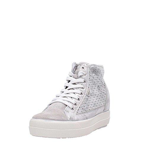 IGI&Co 1150300 Sneakers Frau Weiß-Silber