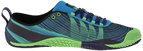 Merrell Men's Vapor Glove 2 Trail Running Shoe, Racer Blue/Bright Green, 8 M US by Merrell (Image #7)