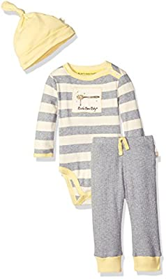 Burt's Bees Baby Organic Long Sleeve Snap Shoulder Bodysuit with Pant and Hat by Burt's Bees Children's Apparel that we recomend individually.