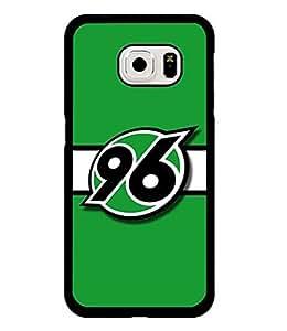 Team Logo Samsung Galaxy S6 Edge Phone Case, Bundesliga Fc Hannover 96 Fabulous Galaxy S6 Edge Case