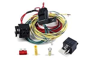 holley 534 134 cooling fan relay kit automotive. Black Bedroom Furniture Sets. Home Design Ideas