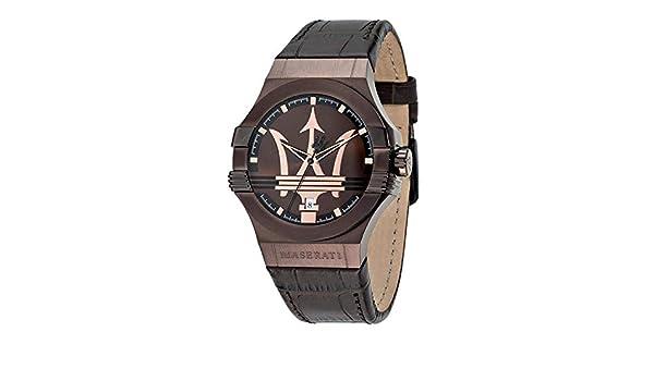 fa19d8b98cb7 MASERATI POTENZA relojes hombre R8851108011  Amazon.es  Relojes