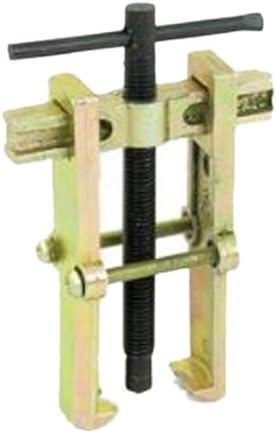 TOOGOO(R) Extractor de rodamientos Herramienta manual Desmontaje de la polea de la bomba Tipo Recta Dos Garras Rodamiento